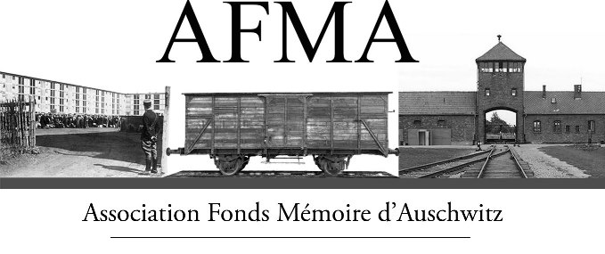 Logo AFMA Association Fonds Mémoire Auschwitz